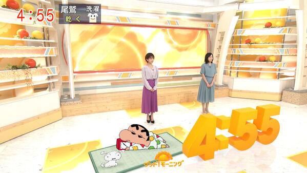 【画像】今日の福田成美さんと久冨慶子さん 6.2