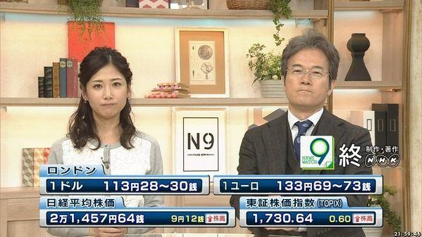 【画像】今日の桑子真帆さん 10.20