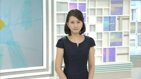 井上あさひアナが今月もNEWS WEBに登場