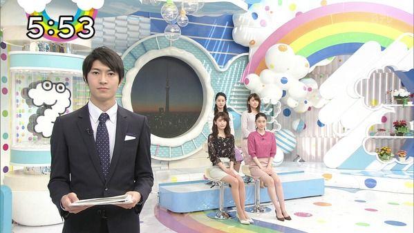 【画像】今日の尾崎里紗さんと徳島えりかさんと榊原美紅さん 2.14