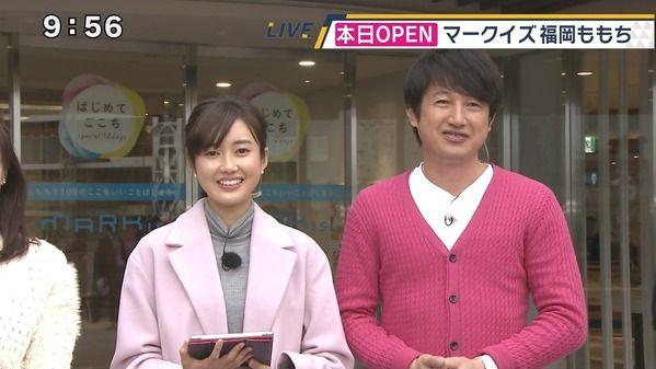【画像】テレビ西日本の浜﨑日香里さん 11.21