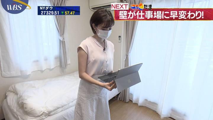 田中瞳 WBS (2020年08月07日放送 26枚)