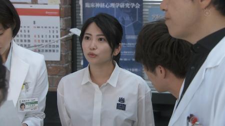志田未来 エッチなブラウス透け 監察医 朝顔 #02