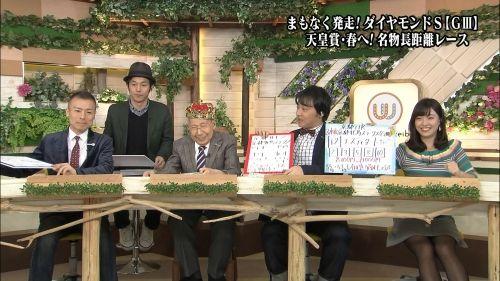 柴田阿弥 黒パンスト画像 2018年02月17日 ウイニング競馬