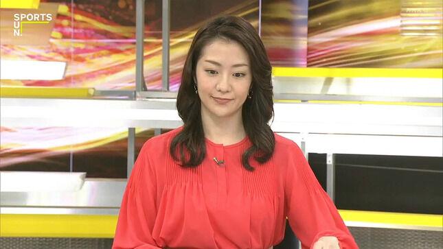 副島萌生アナ サンデー・サタデースポーツ