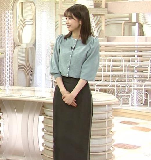 加藤綾子 ロングスカート