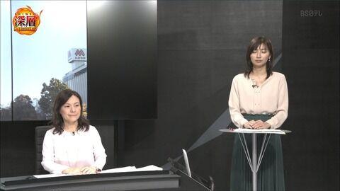 畑下由佳 深層NEWS 19/12/10