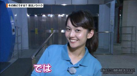 ライムライト 戸室穂美 「かながわ旬菜ナビ」150830 風速30メートル体験
