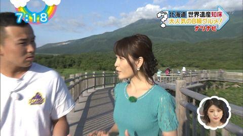 札幌テレビ小山悠里アナがおっぱいもお尻もデカいと話題に。