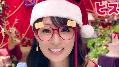 深田恭子がサンタクロースに。