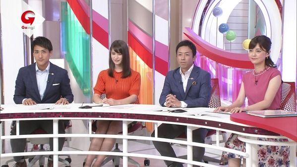 【画像】今日の杉野真実さんとトラウデン直美さん 9.15