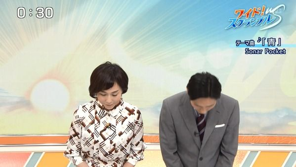 【画像】今日の大下容子さん、大下さんが選ぶ平成ニッポンのヒーローは・・・ 3.19※動画も