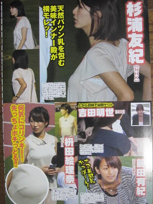 【NHK】 杉浦友紀アナの魅力wwwwwwww(画像・動画あり)
