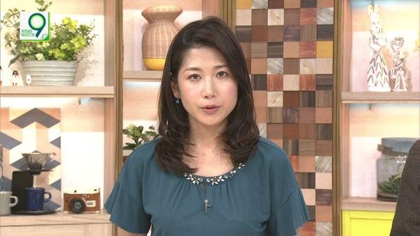 【画像】今日の桑子真帆さん 7.25