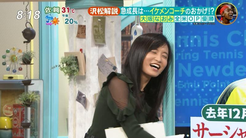 小島瑠璃子 エロいスケスケ サタデープラス 180916