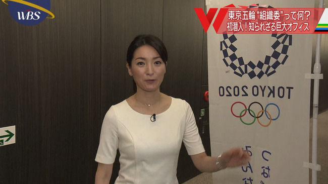 【画像】大江麻理子アナのおっぱい、大きくなってるやんwww
