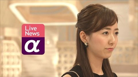 内田嶺衣奈 Live News α 19/08/09
