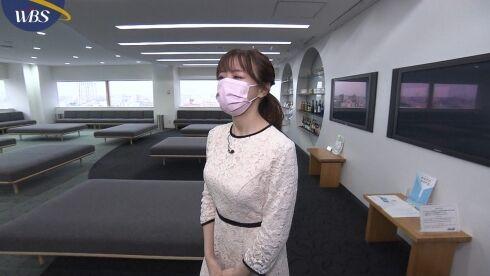 森香澄 WBS おっぱい横乳