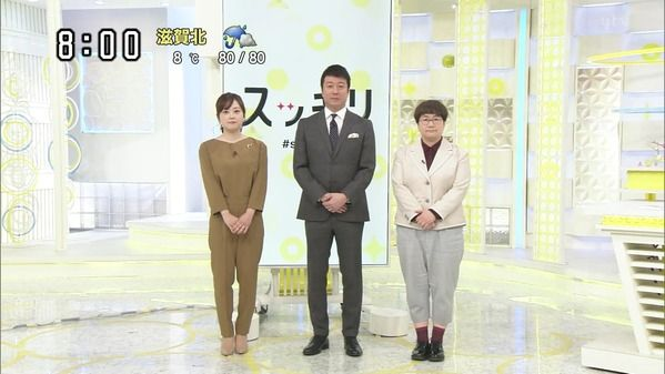 【画像】今日の水卜麻美さん 2.19