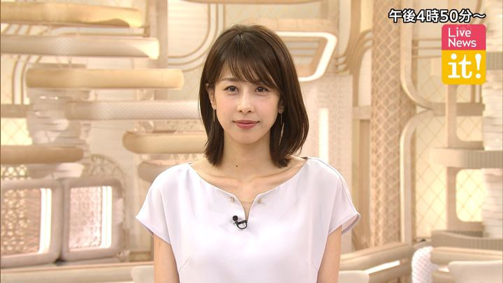 加藤綾子 Live News it! (2019年08月13日放送 28枚)