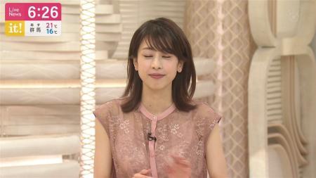 加藤綾子 エッチなキャミ透け it!   200525