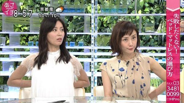 【画像】今日の近江友里恵さん 6.12