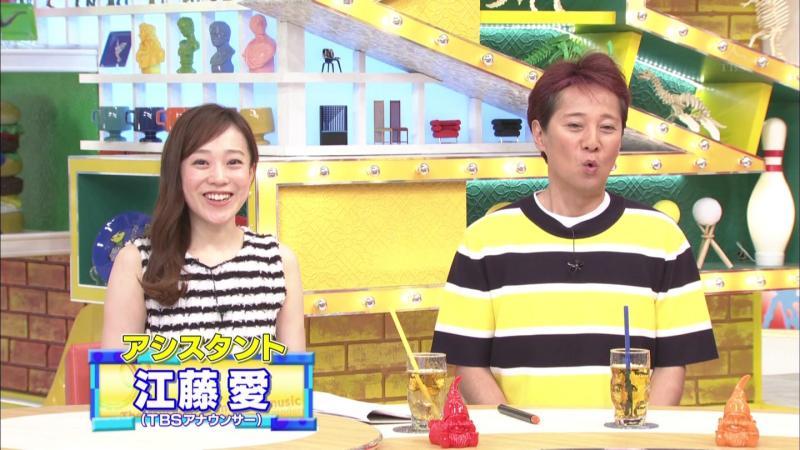 【画像】江藤愛    エロいノースリーブ白いワキ Momm! 170726