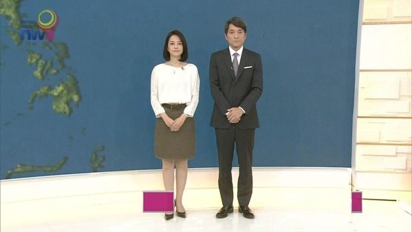 【画像】今日の鈴木奈穂子さんと佐々木彩さん 6.30