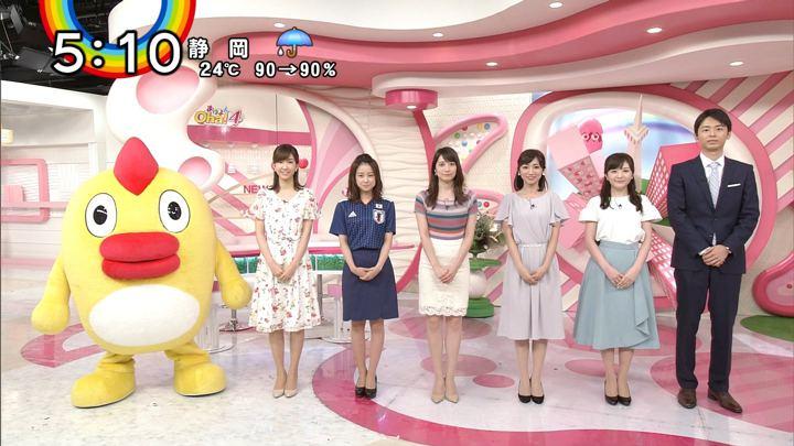 笹崎里菜 Oha!4 PON (2018年06月20日放送 19枚)