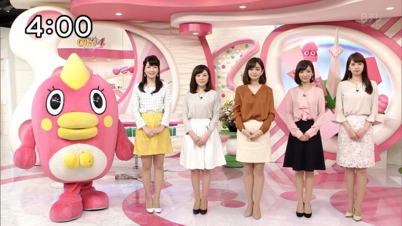 【元UHB】榊菜美【Oha!4】エロエロ超ミニスカート 170327