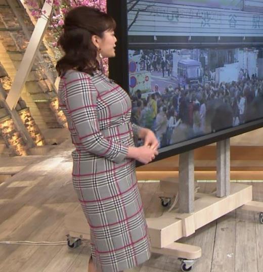三谷紬アナ 超ボリューム系キー局アナ