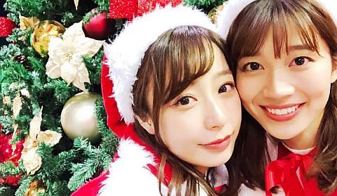 宇垣美里アナのサンタコスがカワイすぎる。
