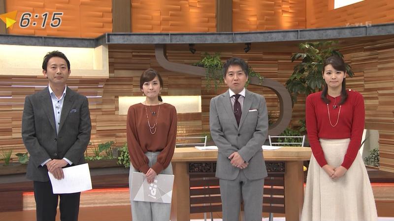 【メ~テレ】鈴木しおり   乳首がわかるような衣装 170127