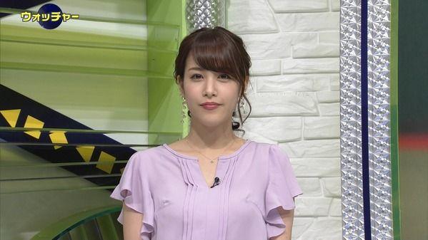 【画像】今日の鷲見玲奈さん 6.13