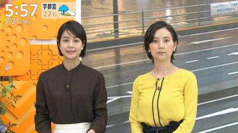 TBS加藤シルビアアナの重量感がすごいおっぱい。