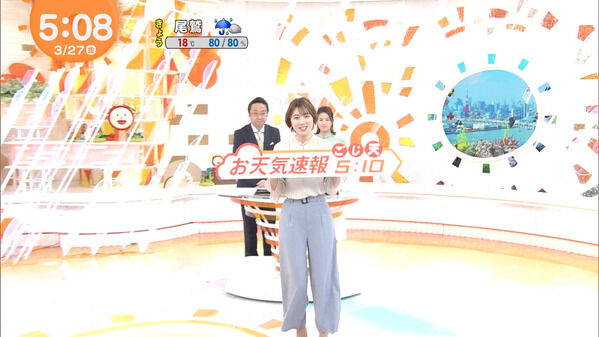 【画像】今日の阿部華也子さん 3.27