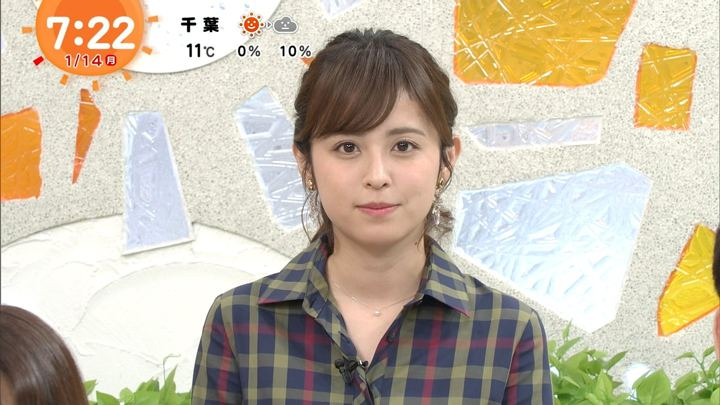 久慈暁子 めざましテレビ (2019年01月14日放送 15枚)