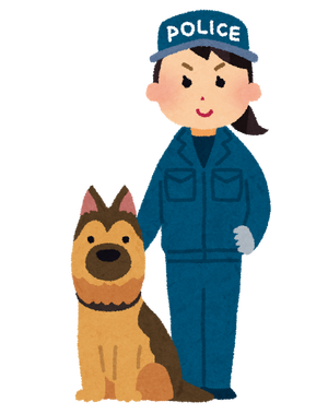【速報】行方不明の女の子、警察犬が匂いで発見の模様!!!!