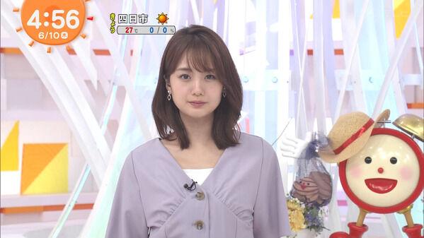 【画像】今日の井上清華さんと藤本万梨乃さん 6.10