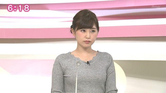 静岡の垣内麻里亜アナ ニットでラーメン食レポ!