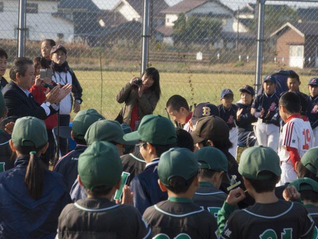 さんびるSKSS杯ベースランニング競争表彰式