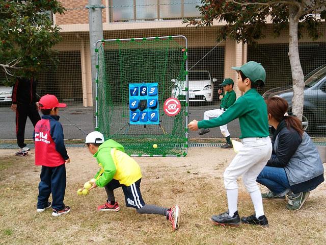 ストラックアウト野球体験会の写真1