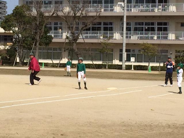 花岡会長、ヒット!!