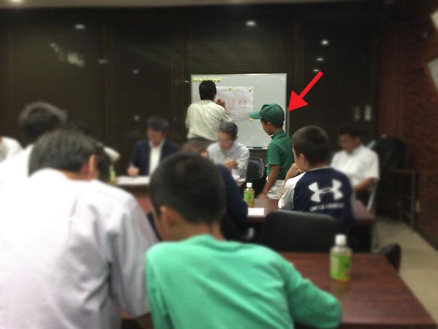 学童軟式野球大会・新人戦・抽選会くじ引き