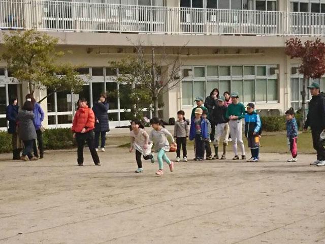50m走「野球体験会・種目1」