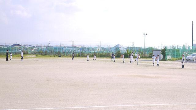 荘原スポーツ少年団の練習開始