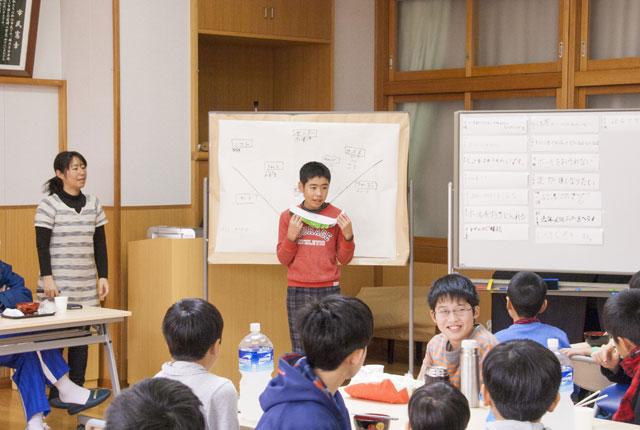5年生ファーストの希望ポジション発表