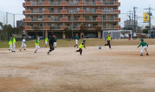 サッカーでの基礎体力づくりトレーニング