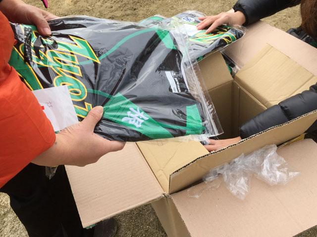 新ユニフォーム完成!松江市の学童野球