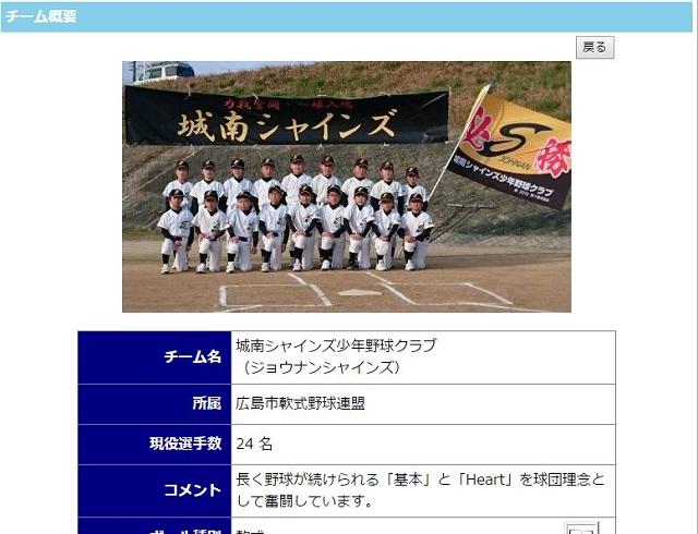 城南シャインズ少年野球クラブ|ホームページ